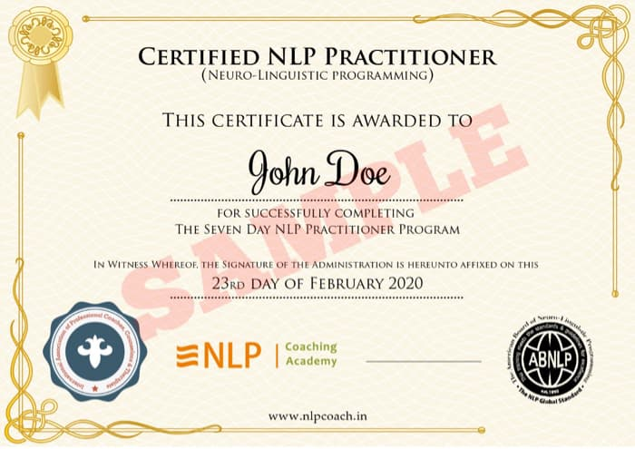 Certified NLP Practitioner & Coach Online online virtual ...