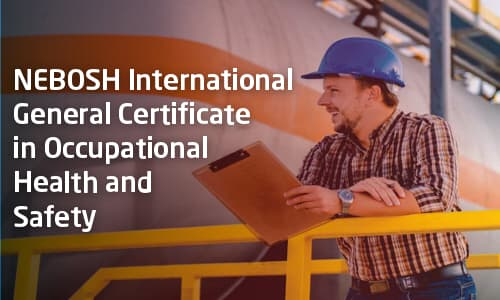NEBOSH International General Certificate (IGC) by JOY MATHEW