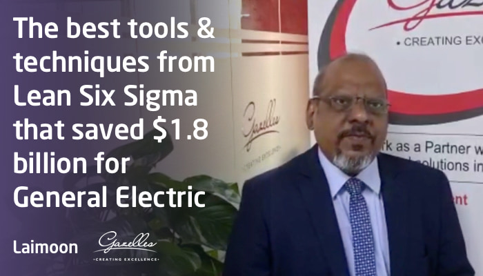 The best tools & techniques from Lean Six Sigma that saved $1.8 billion for General Electric (GE)