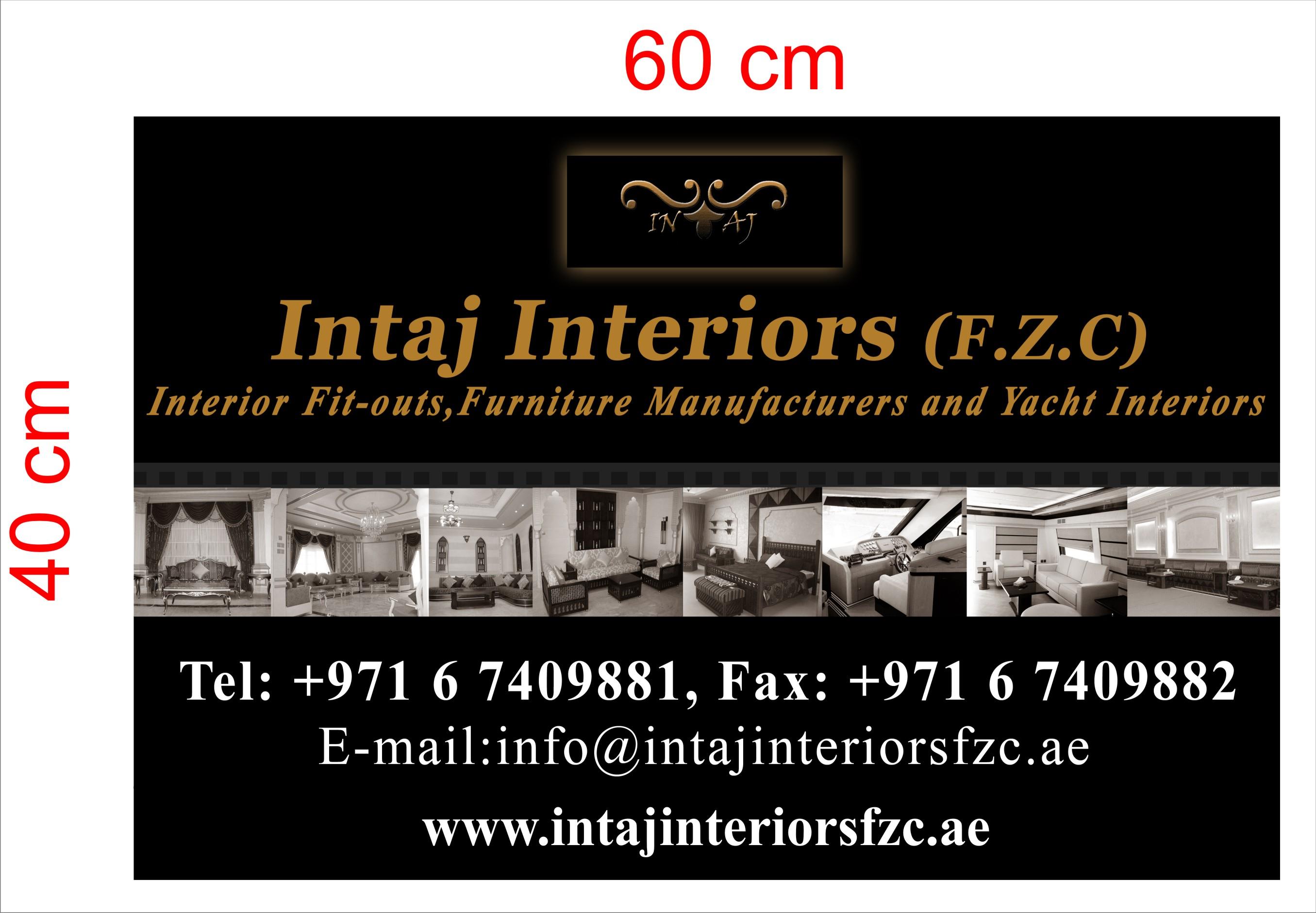Intaj Interiors FZC