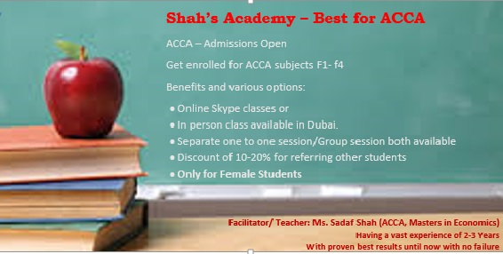 More about Shah's Academy
