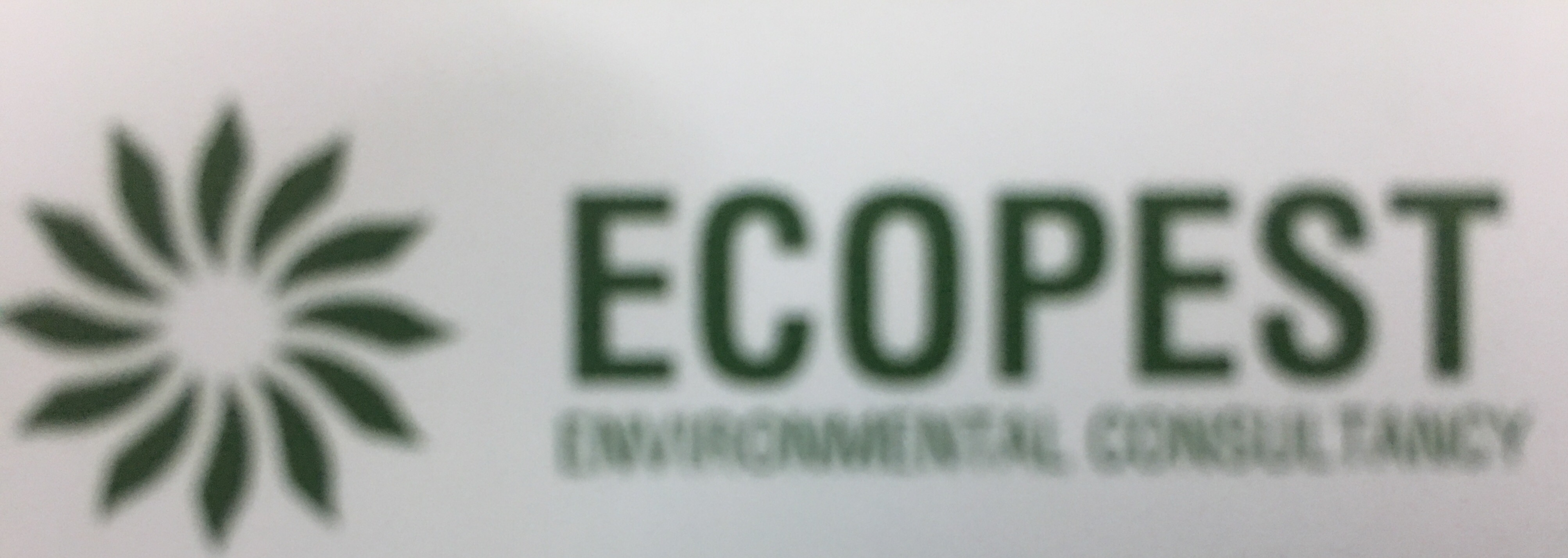 More about ECOPEST ENVIRONMENTAL CONSULTANCY