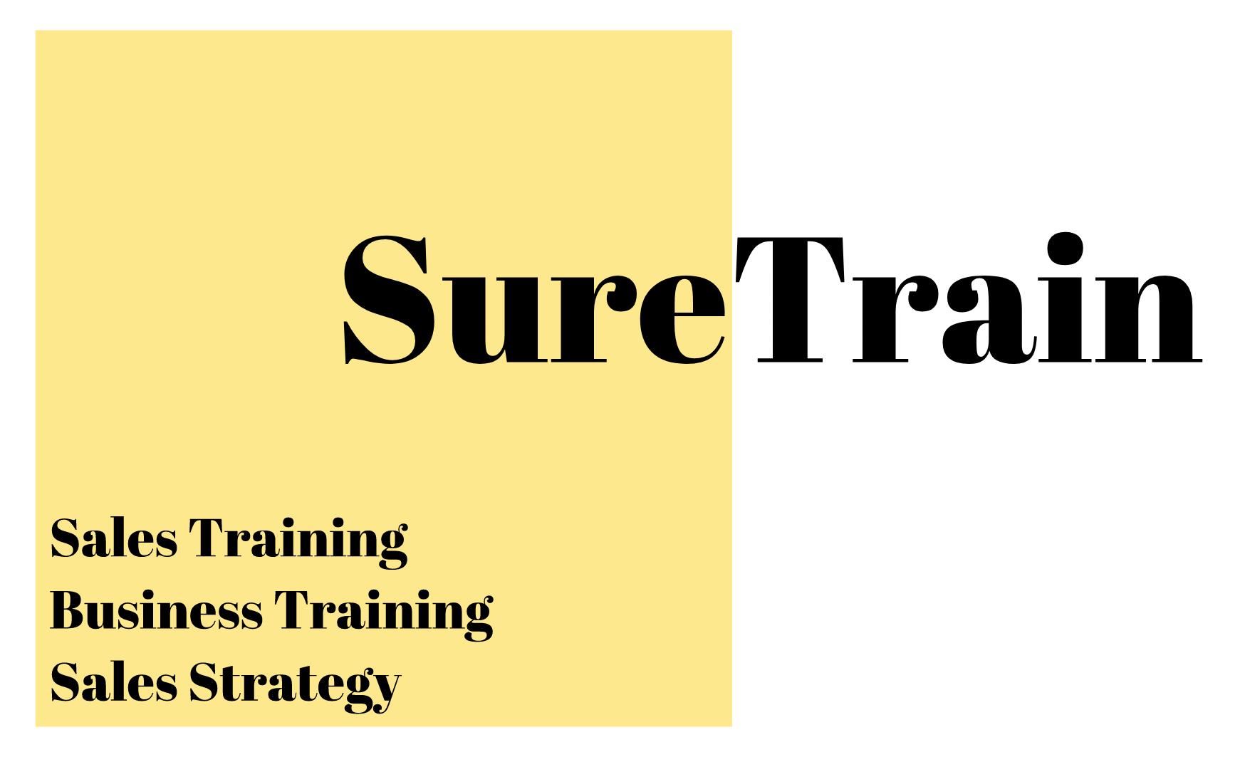 More about Suretrain Sales Training